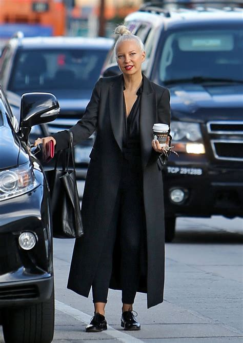 SIA FURLER Out for Coffee in Los Angeles 01/07/2016